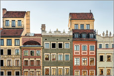 Gallery print  Old town of Warsaw - Westend61