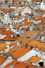 Gallery print  The roofs of Dubrovnik - Axiom RF