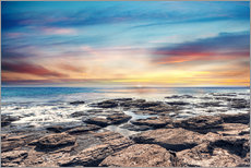Gallery print  Lonely coastal landscape in the sunset - Mitiu