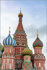 Gallery print  St. Basil's Cathedral at Red Square in Moscow - Click Alps