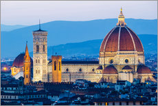 Wall sticker  Cathedral and Brunelleschi cathedral in Florence - Click Alps
