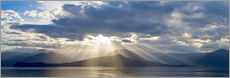 Wall Sticker  Sunbeams over the Hood Channel - Don Paulson