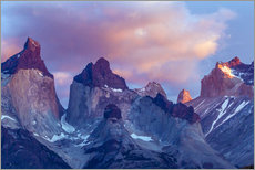 Wall sticker  Torres del Paine at sunrise - Cathy & Gordon Illg
