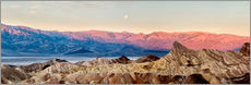 Wall Stickers  Moon Over Death Valley National Park - Ann Collins