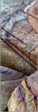 Gallery print  Abstract lines in the sandstone - Judith Zimmerman