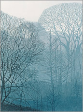 Wall Stickers  The Valley in the Mist - Annie Ovenden
