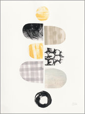 Gallery print  Pebbles design I - Melissa Averinos