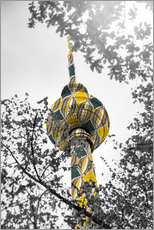 Gallery print  TV tower Colour Pop