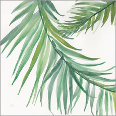 Wall sticker  Fern leaves IV - Chris Paschke