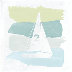 Wall sticker Seaside Swatch Sailboat