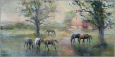 Gallery print  Daybreak on the Farm - Marilyn Hageman