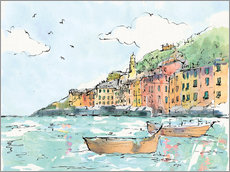 Wall Sticker  Portofino I - Anne Tavoletti