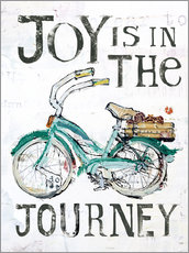 Gallery print  Joy is in the Journey - Kellie Day