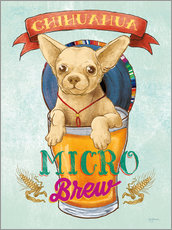 Gallery print  Beer Dogs I - Mary Urban