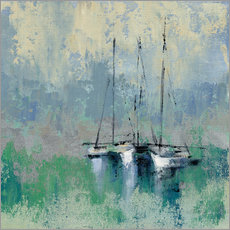 Gallery print  Boats in the Harbor II - Silvia Vassileva