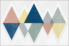 Gallery print  Modern triangles II - Michael Mullan
