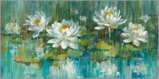Wall sticker Water Lily Pond