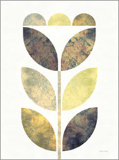 Gallery print  Golden Flower I - Michael Mullan