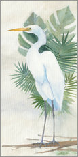 Wall Sticker  Standing Egret II - Avery Tillmon