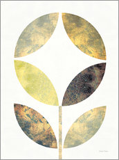 Gallery print  Golden Flower II - Michael Mullan