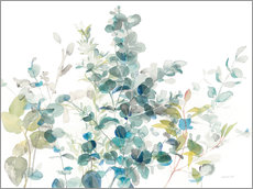 Wall sticker Eucalyptus I