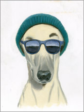 Premium poster Cool dog II
