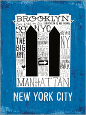 Gallery print  New York City V - Michael Mullan