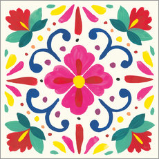 Wall sticker Flower Fiesta VII