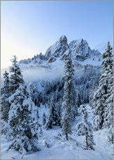 Gallery print  The high peak of Sass De Putia - Roberto Moiola