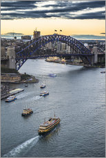 Gallery print  View over Sydney Harbor - Michael Runkel