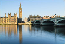 Gallery print  Big Ben, and the Palace of Westminster - Fraser Hall