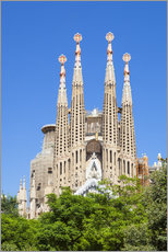 Wall Stickers  La Sagrada Familia church in Barcelona - Neale Clarke