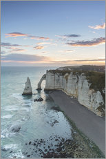 Wall sticker  Dawn at the chalk cliffs of Normandy, France - Francesco Vaninetti