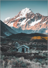 Wall Stickers  Hut at Mount Cook in New Zealand - Nicky Price