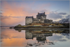 Gallery print  Dawn at Eilean Donan Castle - Andrew Sproule