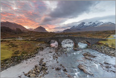 Gallery Print  Sgurr nan Gillean in the Cuillin mountains - Andrew Sproule