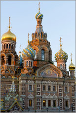 Gallery Print  The Resurrection Church in St. Petersburg - Miles Ertman