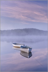 Wall Stickers  Daybreak over foggy lake - John Potter