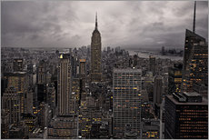 David Rocaberti - New York city skyline from above