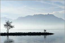 Wall sticker  Lake Annecy, Savoie, France - Graham Lawrence