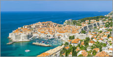 Gallery print  Old Port and Dubrovnik Old Town - Neale Clarke