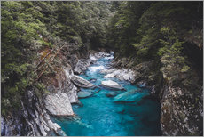 Gallery print  Blue pools, Mount Aspiring National Park - Nicky Price