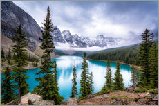 Wall sticker  Moraine Lake - Andreas Kossmann
