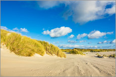 Wall sticker  Landscape with dunes on the island Amrum, Germany - Rico Ködder