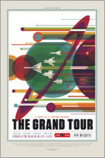 Wall sticker  The Grand Tour (Space Travel)