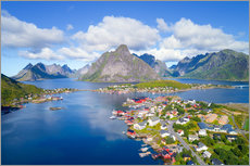 Wall sticker  Norway dream view - Dave Derbis