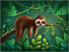 Wall sticker  Sloth - Elena Schweitzer