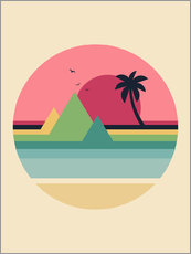 Gallery Print  Tropical Sunset - Andy Westface