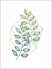 Gallery print  Geometry and nature III - Barlena