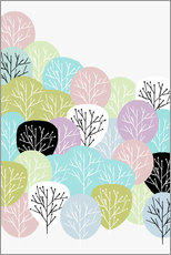 Gallery print  Spring in the forest - Mia Nissen